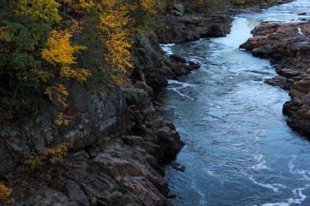 Hadley Falls: Hadley, NY